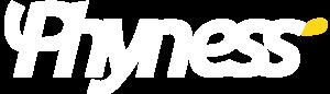 Logo_phyness_Logo horizontal blanc